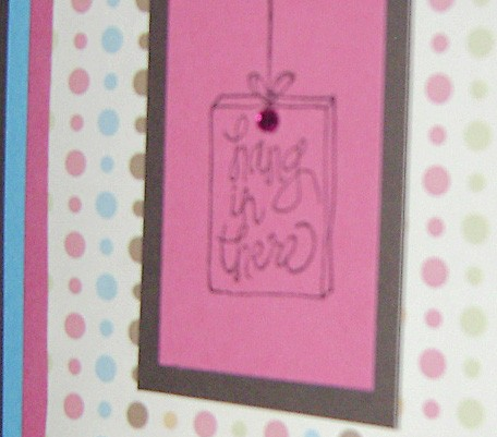 Hang in There (Encouragement) – Card