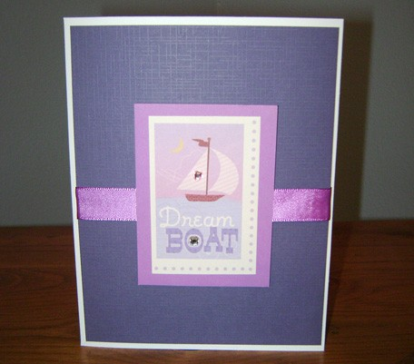 Valentine Card – Dream Boat